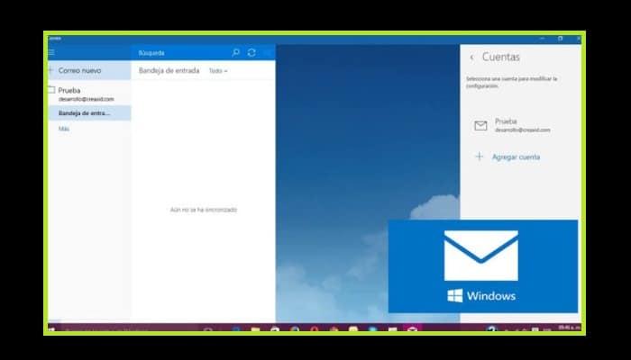 Correo de Windows 10