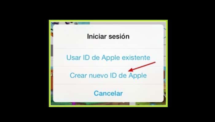 Crear un nuevo ID de Apple