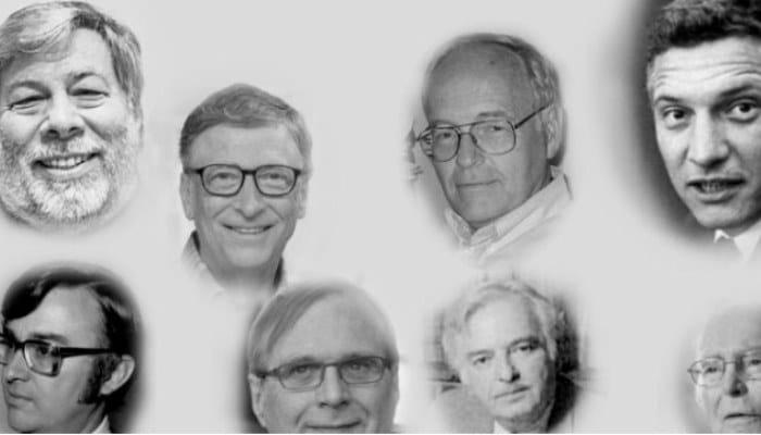 Inventores de los ordenadores de cuarta generación