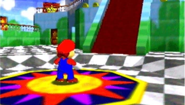 Mario Nintendo 64
