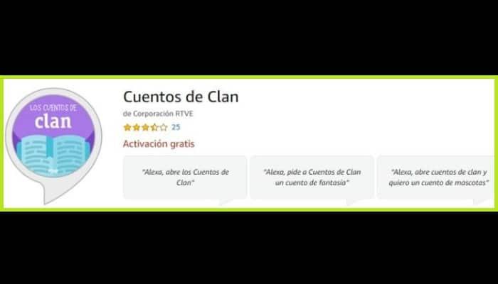 Cuentos de Clan