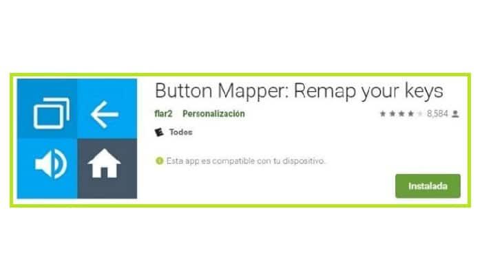 Buttons mapper