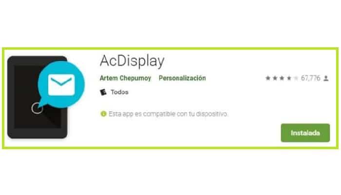 AcDisplay