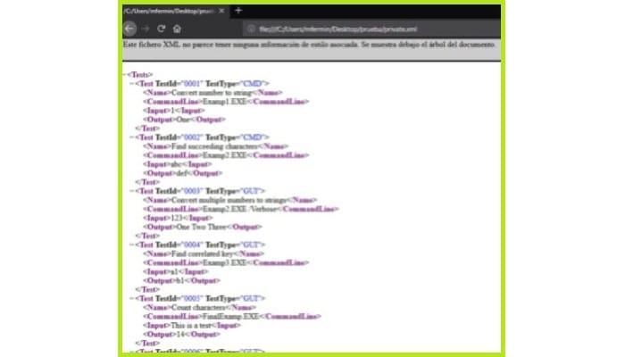Abrir archivos .XML en Mozilla