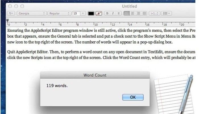 Tienes que escribir Mac Text Edit