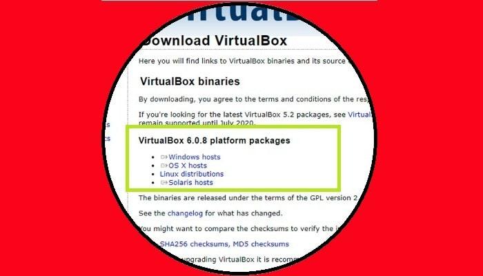 VitualBox