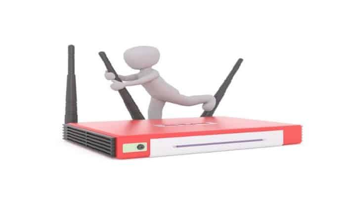 ¿De dónde viene Internet para un enrutador?