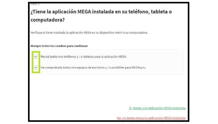 App de Mega