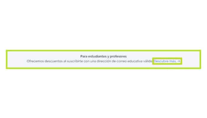 Cuenta Prezi para estudiantes
