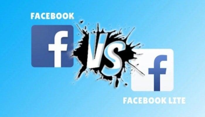 Facebook Lite y en qué se diferencia del Facebook