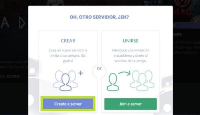 Crea tu propio servidor