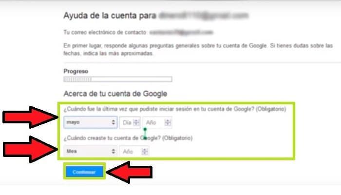 ¿Cuándo creaste tu cuenta de Google?